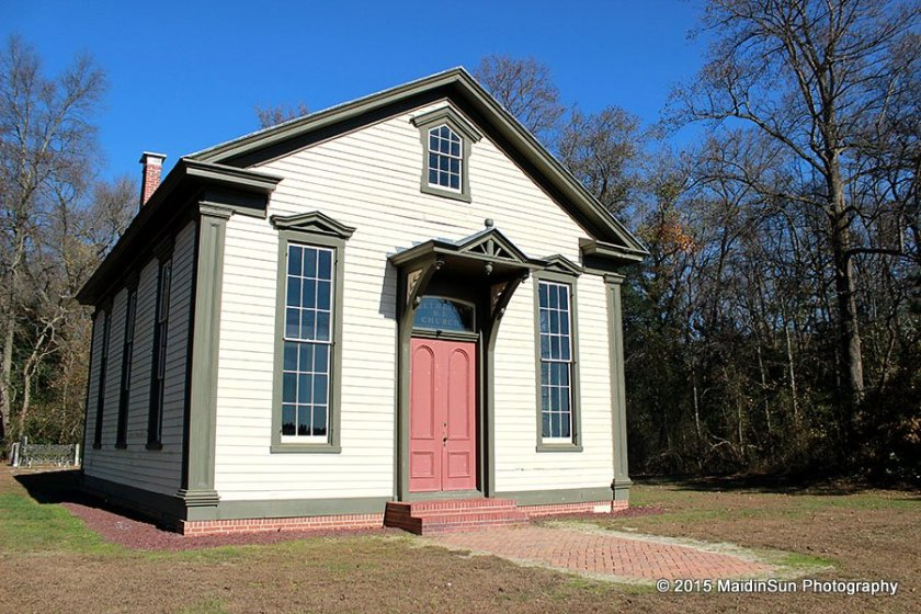 The restored Bethesda Church.